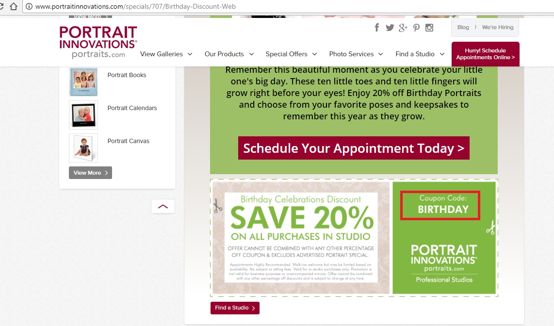 20% Discount on Any Order. This is the perfect opportunity to save your money. Just purchase what you like at Portrait Innovations and feel free to enjoy Portrait Innovations Christmas Day Deals | Up to 20% OFF | Hurry!