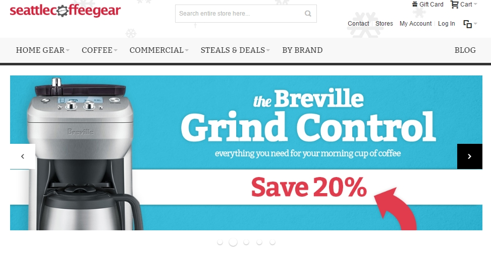 Breville Coffee Maker Coupons : 10% Off Seattle Coffee Gear Coupon Code 2017 Promo Code Dealspotr