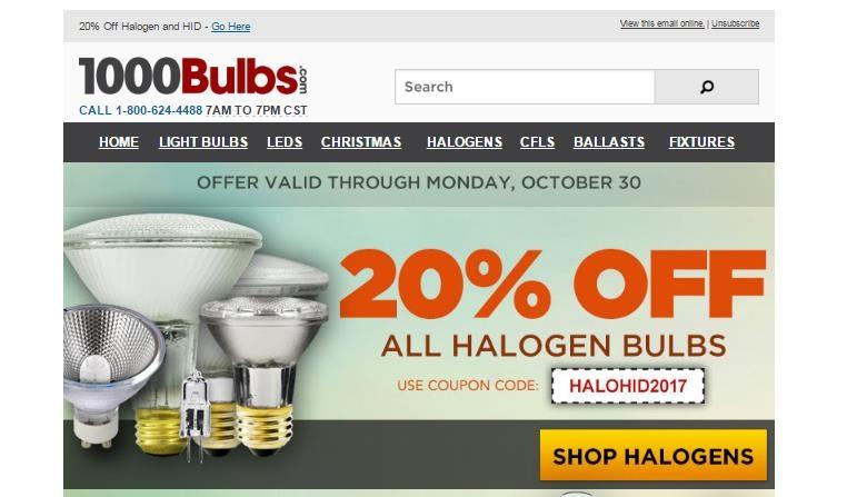 1000 bulbs coupon code