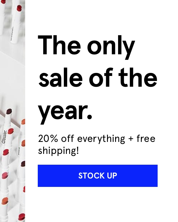Glossier coupon code