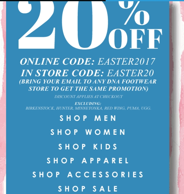 Dna coupon code