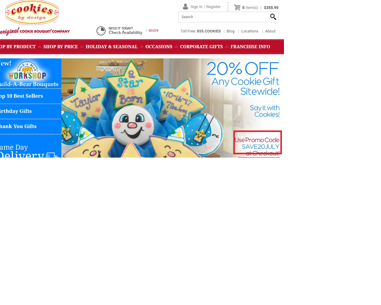 Cookies by design coupon code