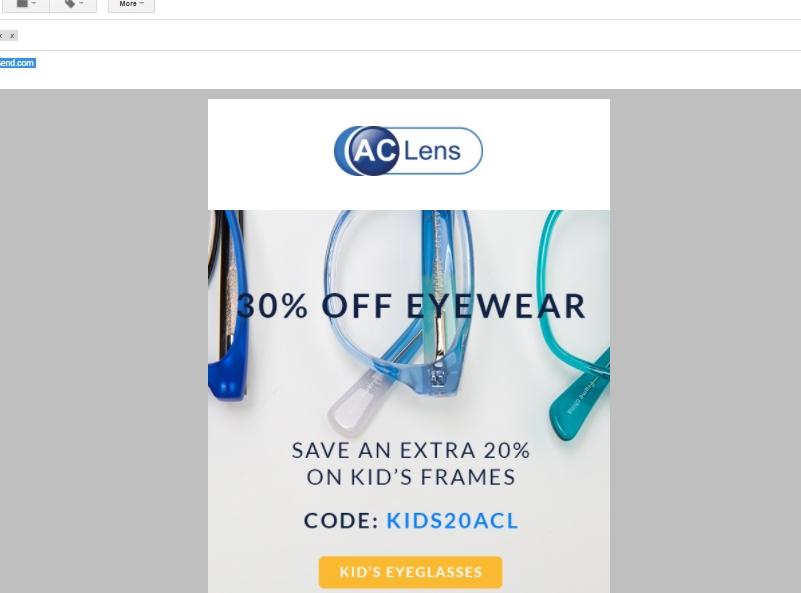 Ac lens coupon code