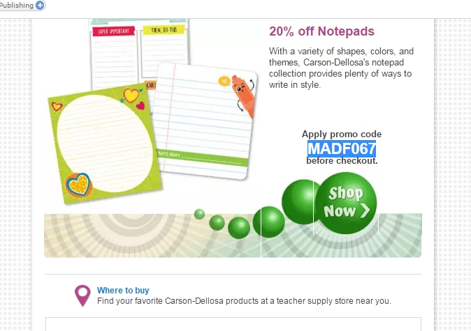 image about Carsons in Store Coupons Printable named Carson dellosa coupon codes 2018 / Tazorac .05 coupon