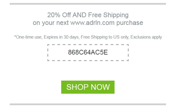 Adrenaline world coupon code