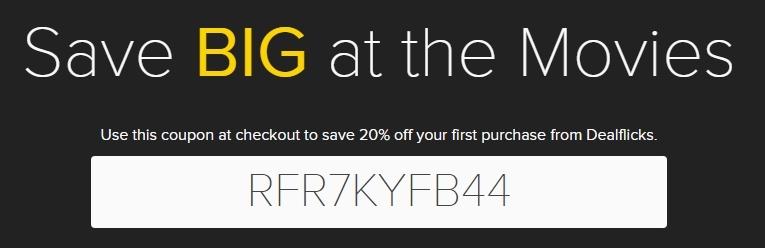Dealflicks coupon code