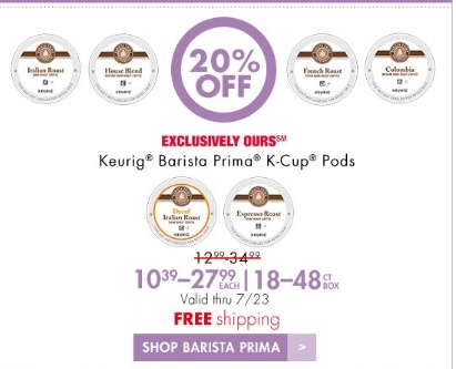 Prima coffee coupon code