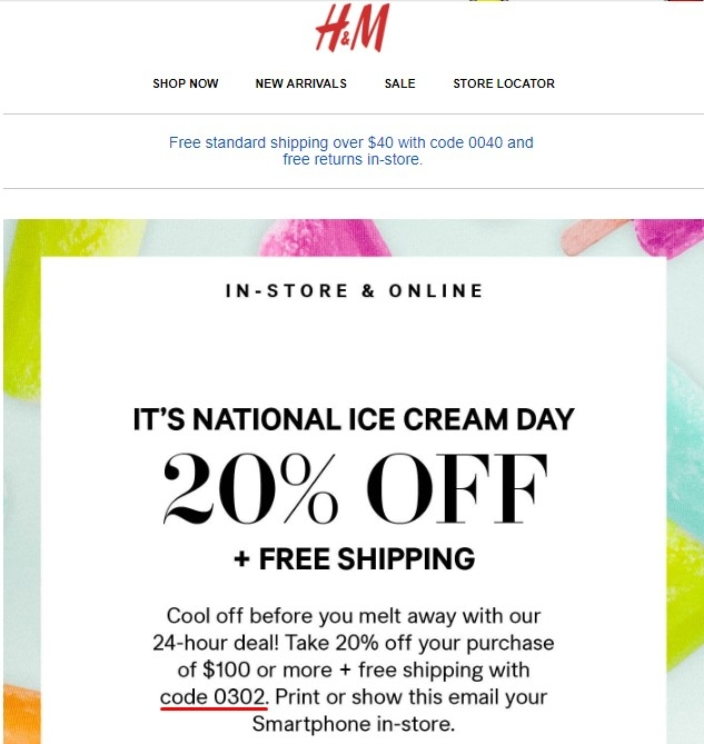 Jul 19,  · H&M does have a rewards program – the H&M Incentive Program, or HIP, but it's limited to employees only. Non-employees can sign up for the newsletter and you'll get 20% off an item and free standard shipping just for signing up%().