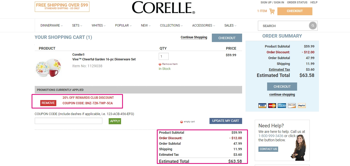 According To Corelle, Customers Should Allow 1 To 3 Days For Their Order To  Be Processed.