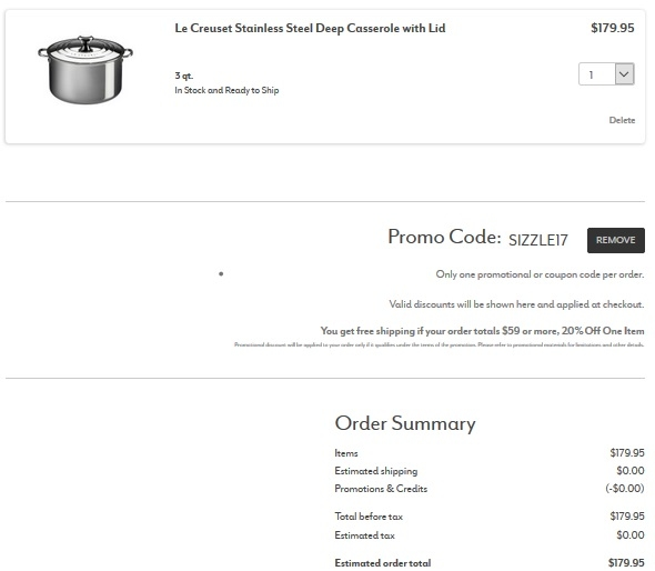 Printable coupon sur la table