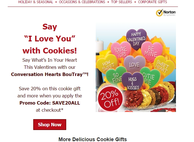 Cookies by design coupon promo code