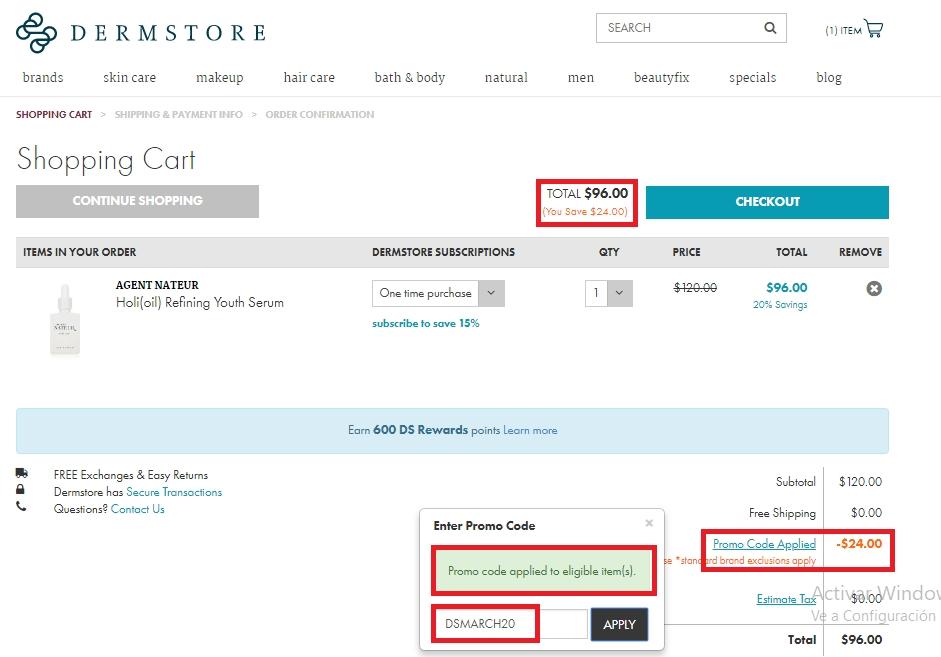Obagi discount store coupon codes