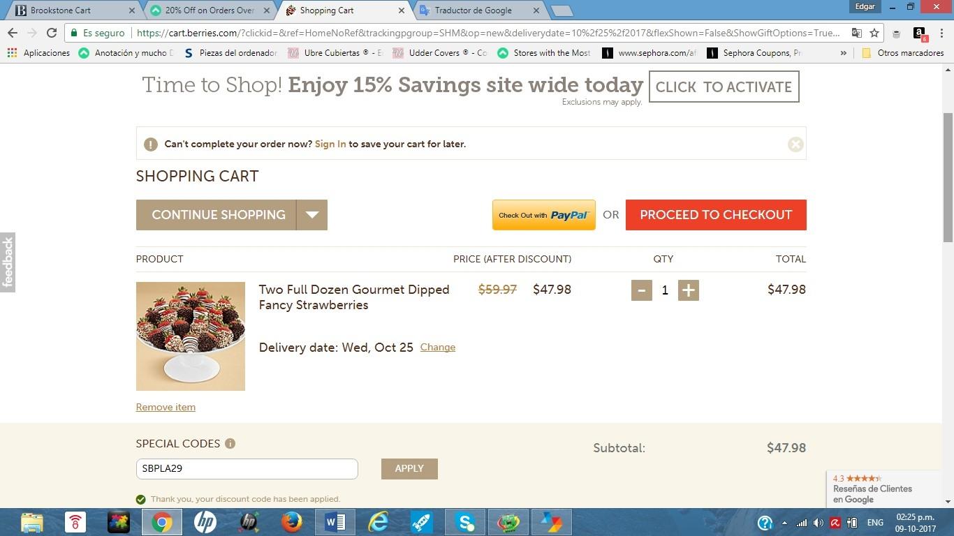 Berries.com coupon code