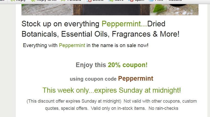Coupon code for bulk apothecary