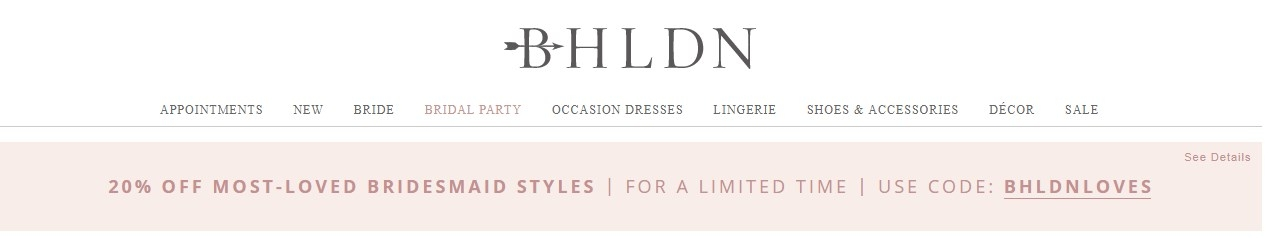 Bhldn coupon code