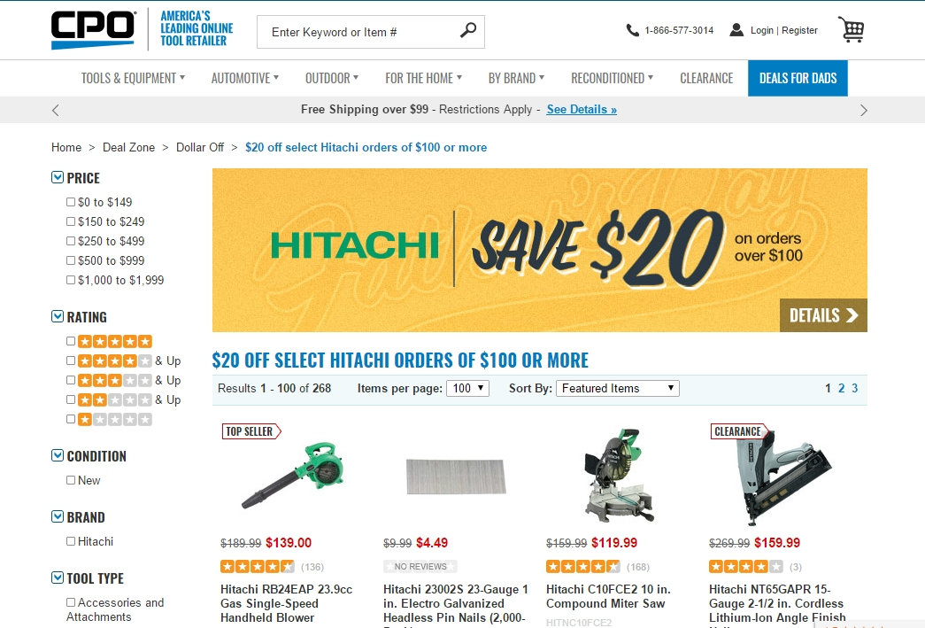 Cpo outlets milwaukee coupon code