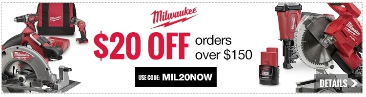 Cpo milwaukee coupon code