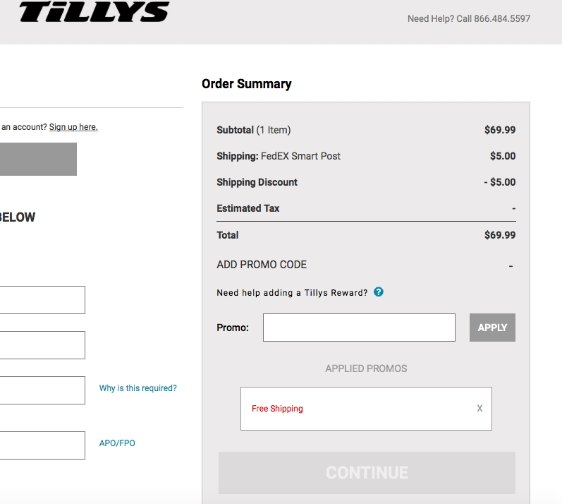 Take a look at our 26 Tillys coupons including 1 coupon code, and 25 sales. Most popular now: Buy 1, Get 1 50% Off Women's Bralettes. Latest offer: 4 for $25 Women's Select Tops%().