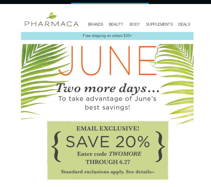 Pharmaca coupon code