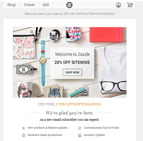 Zazzle stamp coupon code 2018