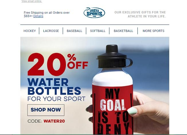 Chalktalksports coupon code