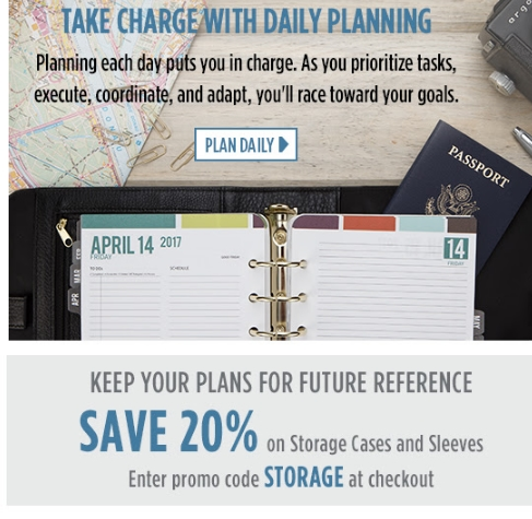 Franklin planner coupon code