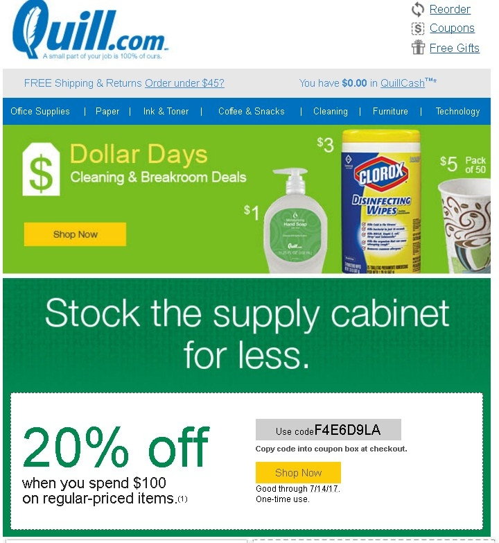 Pad and quill coupon code
