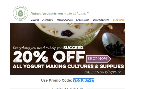 Coupon cultures for health