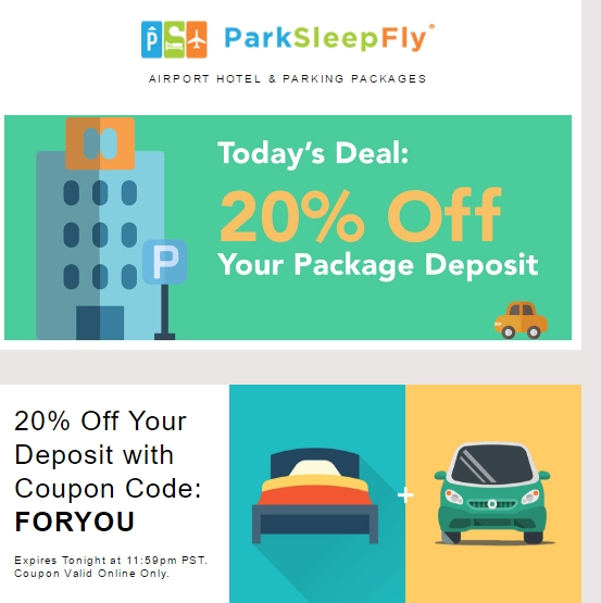 Next time you're off on a cruise, keep your car in a safe spot with deals form ParkSleepFly! They'll make it easy to get to your ship and keep the process stress-free. Check out the discounts today! No ParkSleepFly promo code or ParkSleepFly coupon needed/5(20).