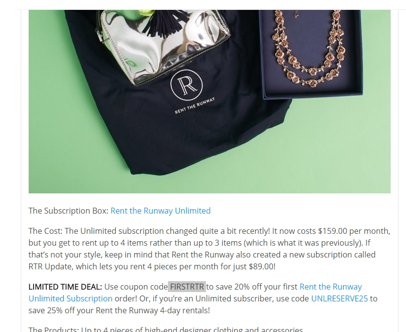 Today's top Rent The Runway promo code: $25 Off $+. Get 50 Rent The Runway promo codes and coupons for December