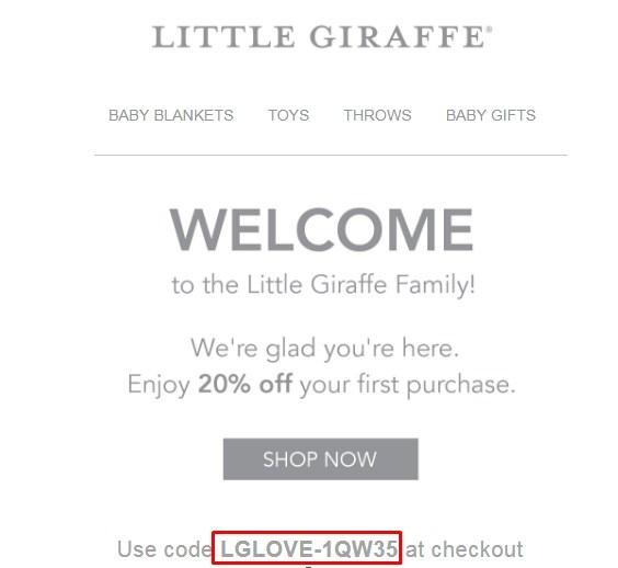 Little giraffe coupon code