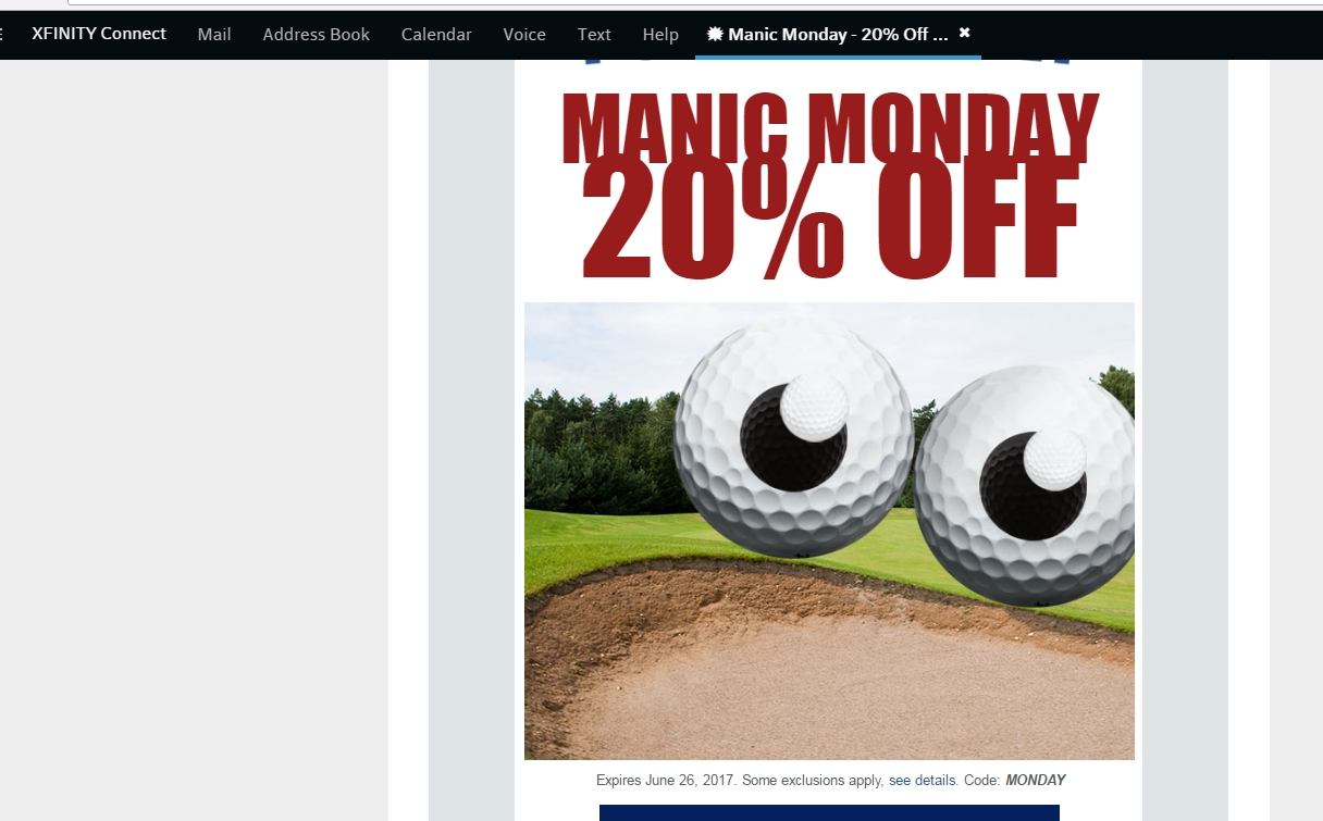 Global golf coupon code and discounts