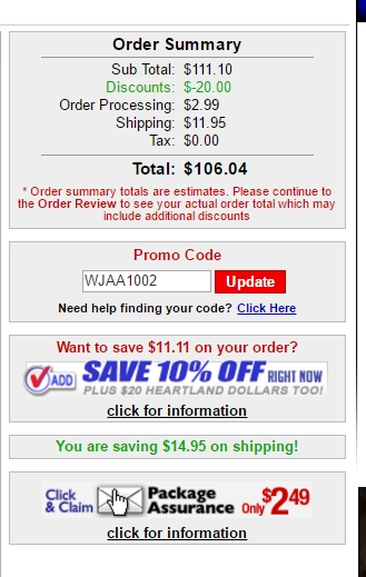 Heartland america coupon discount code