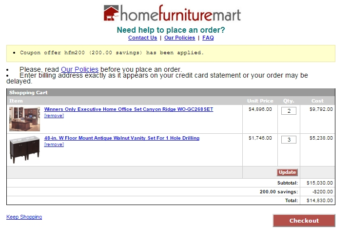 5 Off Home Furniture Mart Coupon Code 2017 Promo Code