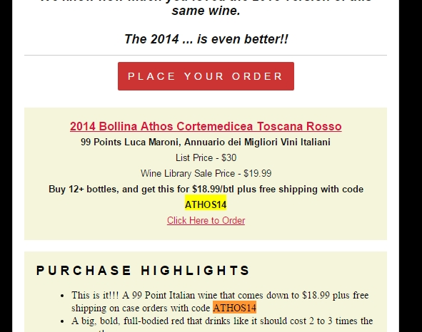 Wine library coupon code