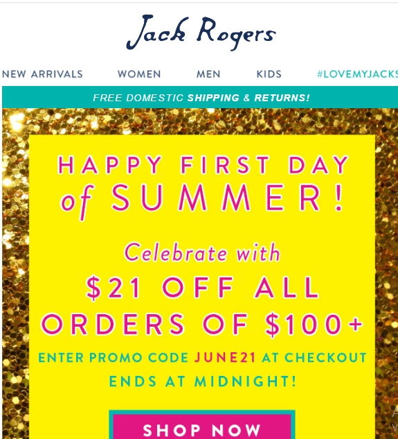 Jack Rogers has offered a sitewide coupon (good for all transactions) for 30 of the last 30 days. As coupon experts in business since , the best coupon we have seen at trueoupg1t.gq was for 50% off in December of