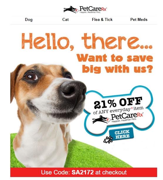 Petcarerx coupon code