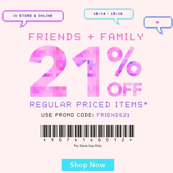 Forever21.com coupon code