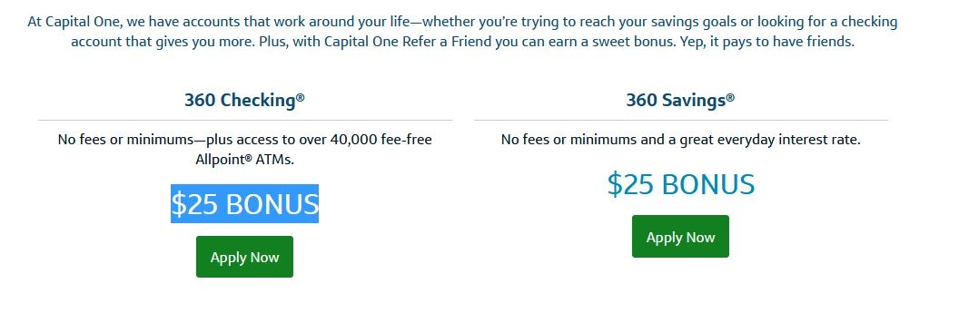 Receive Capital One Bank coupon codes and other top promos in your inbox, free! Receive our latest Capital One Bank discounts no more than once a week and no spam. SIGN ME UP! Expired 11/8/ 30% OFF Here is Our Capital One Bank Promo Code for 30% off Purchase. 8 GET PROMO CODE.