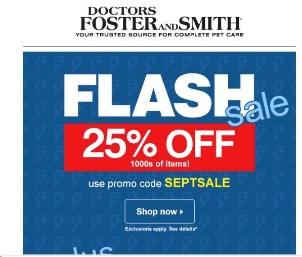Fosters and smith coupon code