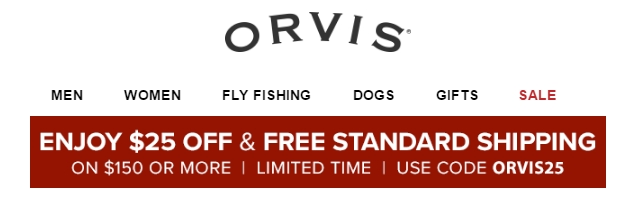How to Use Orvis Coupons You can find coupon codes to use on your orders at Orvis by searching polukochevnik-download.gq When you have the code you want to use, enter it in the appropriate box at checkout and your discount will be reflected once you refresh the page%(42).