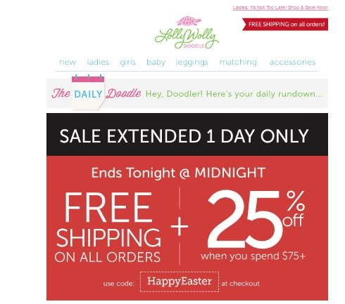 Lolly wolly doodle coupon code 2018