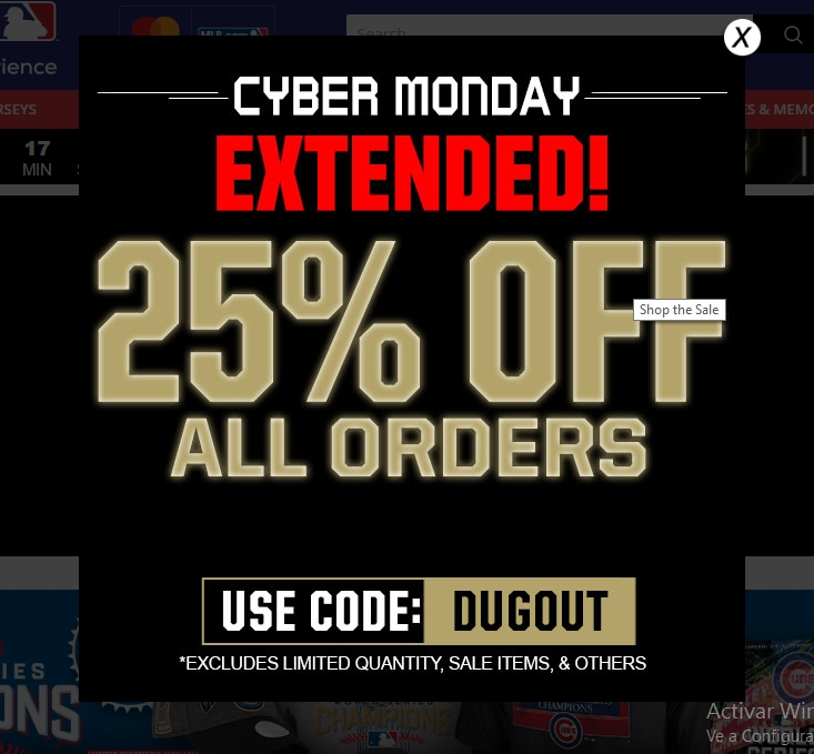 All Active MLB Shop Coupon Codes & Promo Codes - Already redeemed 172 times