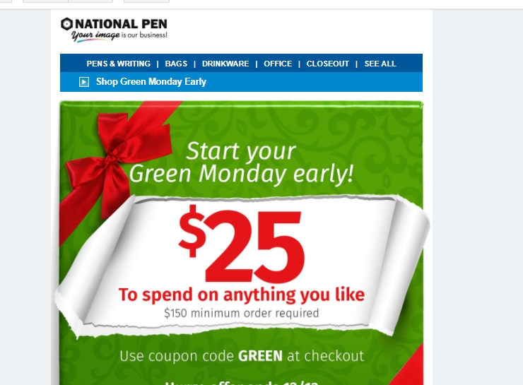 With Official National Pen Coupons. We've compiled a list of our latest coupon 50+ Years In Business· Factory-Direct Pricing· Rated A+ by BBB· Factory-Direct PricingTypes: Custom Pens, Promotional Mugs, Personalized Bags, Pencils With Logos.