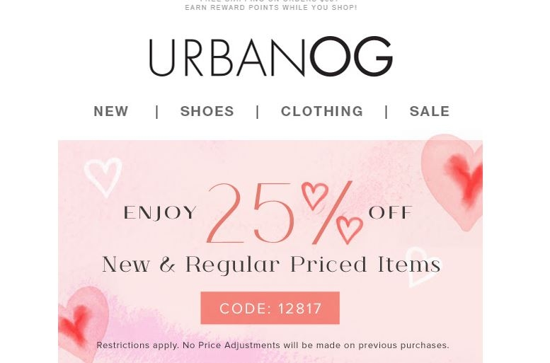Urbanog coupon codes