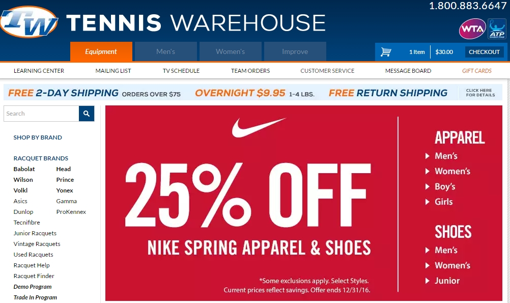Running warehouse coupon code