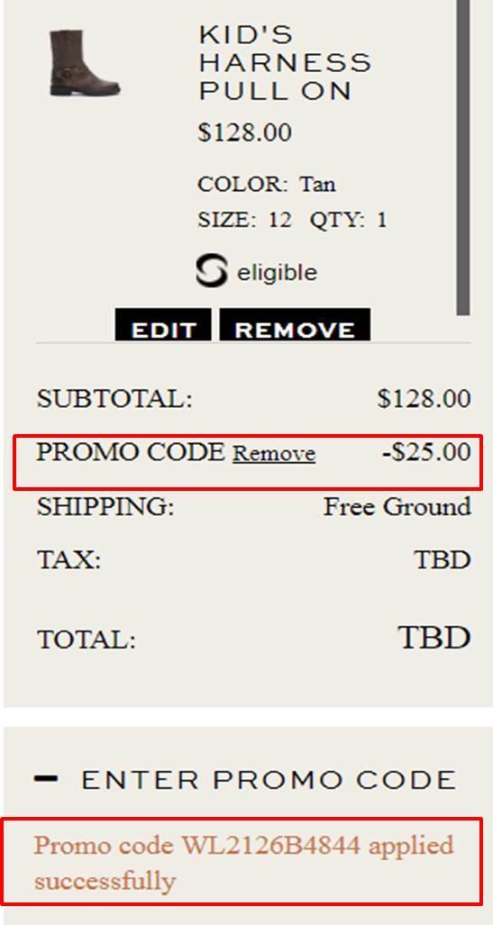 Frye coupon code