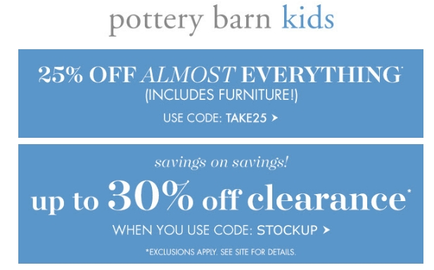graphic about Pottery Barn Kids Printable Coupons called Pottery barn 15 off coupon september 2018 : Travelzoo specials