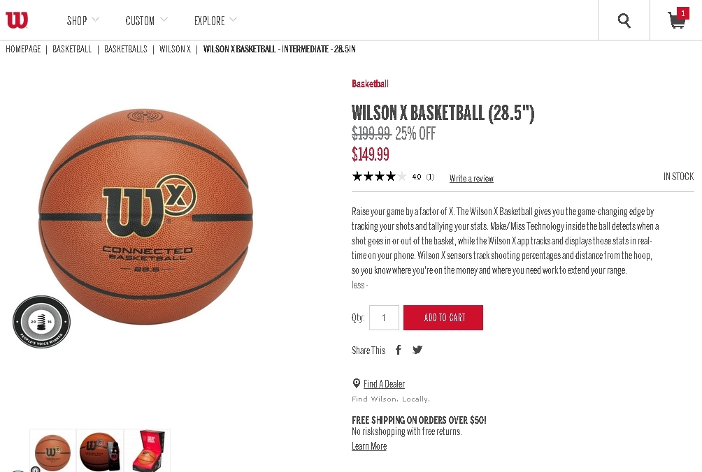 Wilson coupon code