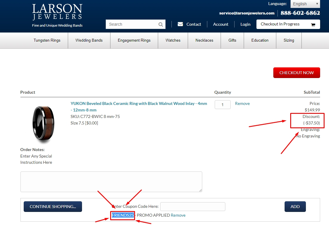 Larson jewelers coupon code
